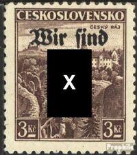 Rumburg (Sudetenland) 15 postfris 1938 Afdrukken de Duits. Feestje