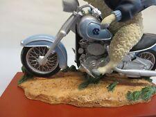 North Carolina Tar Heels Wild Thang Motorcycle Mascot Gift Collectible Figurine