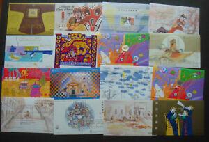 Macau 16 MNH mint Souvenir Sheets