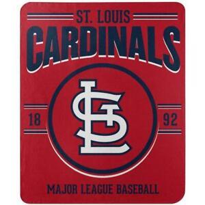 St Louis Cardinals Fleece Throw Blanket 50x60