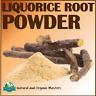 ✅Organic LIQUORICE ROOT POWDER Licorice Powder for Skin,Hair,Soap Herbs Herbal