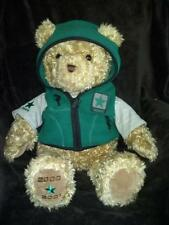 "Gund Wish Bear Hope 26"" Stuffed Brown Teddy Plush Toy 2000-2001 Limited Edition,"