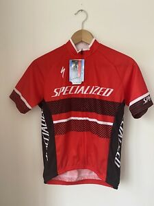 Specialized Cycling Jersey. Red / Black. Age 12+ XL Kids. BNWT.