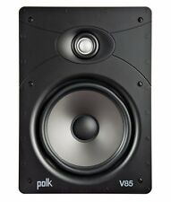 Polk Audio V85 8″ High Performance Vanishing In-Wall Speaker 125w Fast P+P NEW