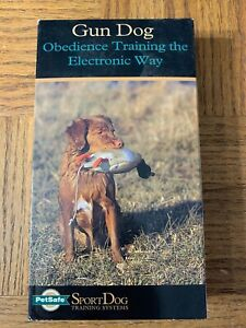 Gun Dog Obedience Training Vhs