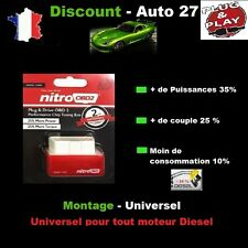 BOITIER ADDITIONNEL CHIP BOX OBD PUCE TUNING AUDI A6 C7 3.0 3L TDI 204 CV