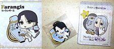 Heroic Legend of Arslan PitaColle Rubber Strap FARANGIS MF Kodansha Licensed New