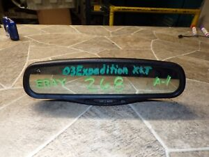 ☼2000-2008 FORD EXPEDITION LINCOLN NAVIGATOR AUTO DIMMING REAR VIEW MIRROR OEM