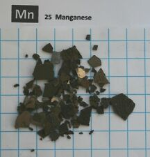 10 gram 99.85% Manganese metal pieces element 25 sample