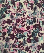 NWT Lularoe TC Leggings Paisley Floral Purple Pink Blue White Teal UNICORN