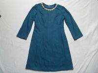 VINTAGE 1960s WOOL DRESS - MOD / SCOOTER / DOLLY BIRD / RETRO