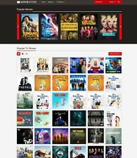 Movies, TV Shows Store Website (Amazon, iTunes Affiliate) + Free Hosting