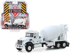 2019 Mack Granite Cement Mixer White S.D. Trucks Series 8 1/64 Diecast Model by