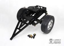 1/14 RC DIY TAMIYA Tractor Model Truck LESU Car Metal Single Axle Trailer B