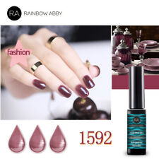 RAINBOW ABBY Base Top Coat UV LED Farb Gel Polish Nail Nagellack Soak Off #1592