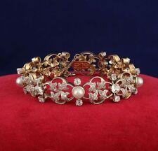 Yellow Gold Bracelet Art Nouveau Fine Jewellery