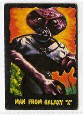 (Gv398-100) A. & B.C. Gum, Outer Limits, #5 Man from Galaxy X 1966 G-VG