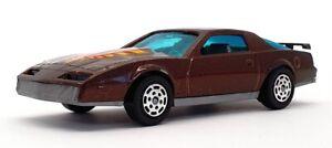 Hotwheels 1/43 Scale Diecast 6903 - Pontiac Firebird - Metallic Brown