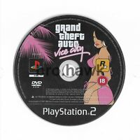 GTA Grand Theft Auto Vice City (PS2, Play-Station) - PAL - GAME DISC