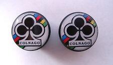 Colnago handlebar bike caps, Colnago Bike frame logo end plugs, Colnago caps