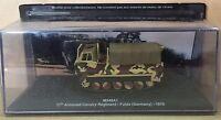 "DIE CAST TANK "" M548A1 11th ARMORED FULDA (GERMANY) - 1979 "" BLINDATI 044 1/72"