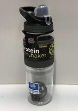 Cool Gear Hexashake Protein Shaker  24oz Grey