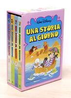 Walt Disney - Una storia al giorno - 4 volumi - 1^ ed. 1980 Mondadori