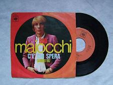 """RIKI MAIOCCHI""""C'E' CHI SPERA (Sanremo 67),SONO IL TUO POETA - disco 45 giri CBS"""""""