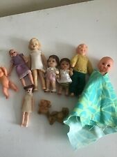 Mixed Lot Of Dolls House Dolls.