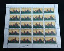 Smithsonian Institution Stamp Sheet Of 20 32C Stamps