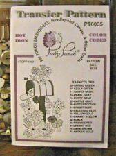 Pretty Punch Iron Transfer Pattern, Punch Embroidery - Mailbox #PT6035 - NOS