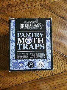 Dr. Killigan'S Premium Pantry Moth Traps With Pheromone Attractant | Safe, Non-T