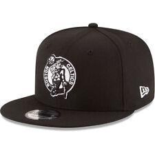 Boston Celtics New Era 9FIFTY NBA Adjustable Black Snapback Hat Cap Black 950