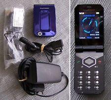 Original Sony Ericsson F100i Jalou- Deep Amethyst mobile phone (f100 t66 t600)