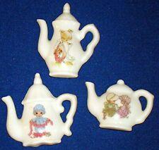 Precious Moments Tea Time Teapot 2-inch Magnet Set of 3