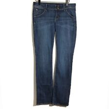 Hudson Women Bootcut Jeans Size 29 Stretch Medium Wash Made In USA