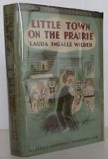 LAURA INGALLS WILDER Little Town on the Prairie FIRST EDITION
