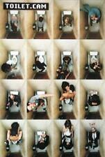 Toilet Cam Poster - Klo Toilette Kabine - lustig - Querformat 61 x 91,5 cm - NEU
