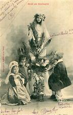 Carte Noël en Bretagne Enfants et religion
