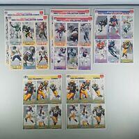 McDonalds 1993 Gameday Football Cards Green Bay Packers, Rice, Marino