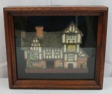 Vintage David Winter 1989 The Plucked Ducks Cottage In Shadow Box