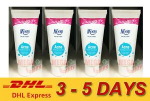 4 x Dr. Montri Facial Foam Acne Oil Control Cleansing Face Skin 62.5g.
