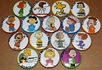 PEANUTS SET OF 16 FRIDGE MAGNETS Charlie Brown, Lucy, Snoopy, Pig Pen, Schroeder