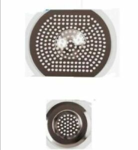 Pack of 2 Stainless Steel Sink Strainers