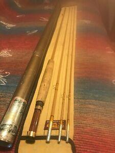 Heddon Expert #125 Bamboo Fly Rod - 9', 3/2pc, 2 3/4F, GBG or C, Sock,Tube