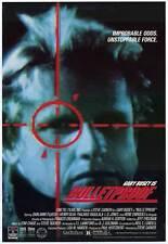 BULLETPROOF Movie POSTER 27x40 Gary Busey Darlanne Fluegel Henry Silva Thalmus