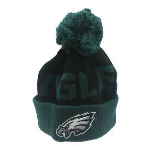 Philadelphia Eagles Official NFL Infant 12-24 Months Pom Knit Winter Hat Cap New