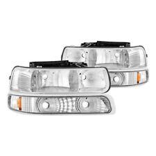 Spyder Auto Crystal Headlights For 99-06 Chevy Silverado/Suburban/Tahoe #5064226