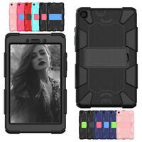 """For Samsung Galaxy Tab A 8.0"""" SM-T290 T295 Heavy Duty Hybrid Rugged Case Cover"""