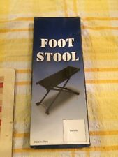 More details for guitar foot stool